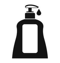 Body care lotion icon simple style vector image