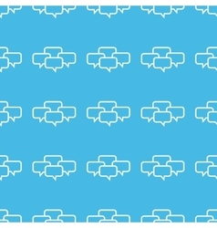 Conference straight pattern vector