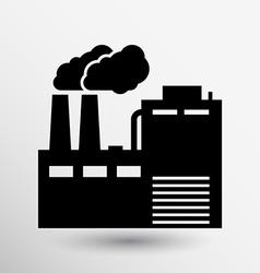 Factory icon button logo symbol concept vector