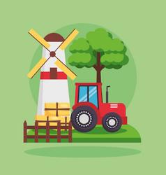 Farm fresh cartoon vector
