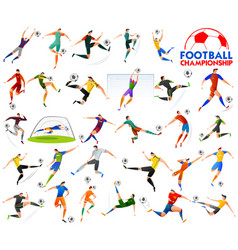 Football championship cup soccer sports background vector