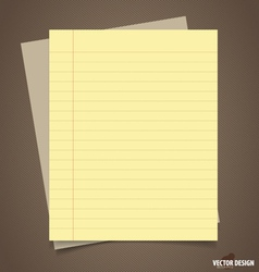 Papers ready for your message vector image