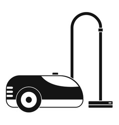 wash vacuum cleaner icon simple style vector image