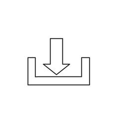 download icon vector image