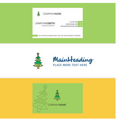 beautiful christmas calendar logo and business vector image