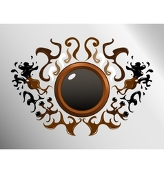 Circle sign design vector image