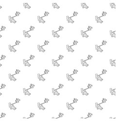 Difficult filming pattern seamless vector