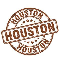 Houston stamp vector