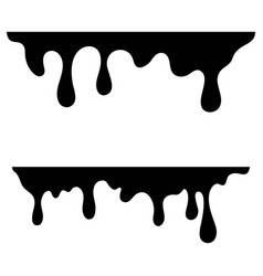 ink drop icon design vector image