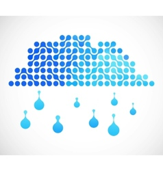 Internet cloud image vector