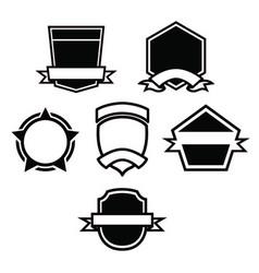 Label badge emblem vector