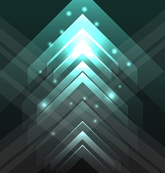 Abstract tecno background with set transparent vector image