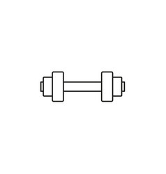 Dumbell icon vector
