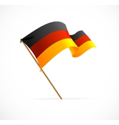 flag germany vector image