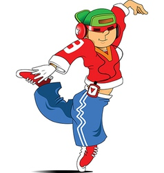 Hip Hop dancer vector