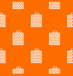 honeycomb pattern seamless vector image