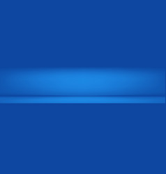 luxury blue color abstract background banner vector image