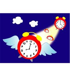 Time flies vector