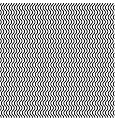Vertical wavy lines seamless pattern editable vector