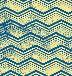 Vintage geometric pattern with dirt texture old vector image vector image