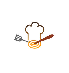 Chef fusion logo vector