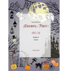 Colors Halloween Elements for holiday vector