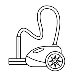 German vacuum cleaner icon outline style vector