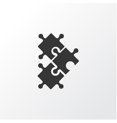puzzle icon symbol premium quality isolated vector image