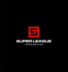 Sl logo vector