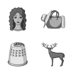 profession atelier and other monochrome icon in vector image vector image