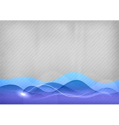 background blue wave vector image