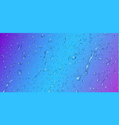 Background with drops and streaks water vector