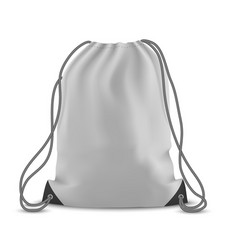 Backpack bag isolated vector