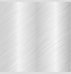 Brushed metal background with diagonal scratches vector
