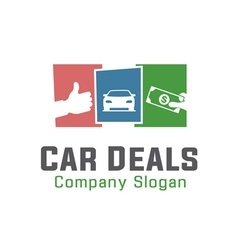Car Deals Design vector image