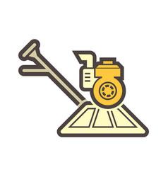 Concrete polish equipment vector