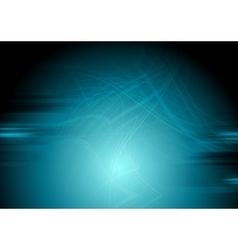 Dark blue grunge wavy background vector