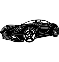 great Detailed Car vector image