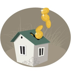 Home equity vector image