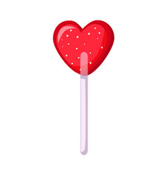 Isolated object lollipop and heart symbol web vector