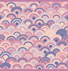 Vibrant fish scales squama background vector