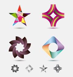 modern icon or logo set vector image vector image