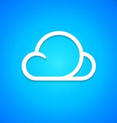 Cloud icon vector image