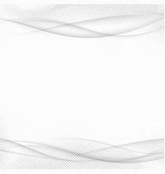 abstract transparent halftone lines modern vector image
