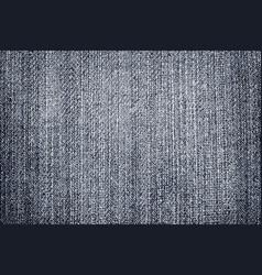 dark blue and grey denim texture vector image