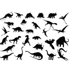 Dinosaurs vector