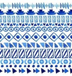 Seamless aztec pattern vector