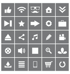 Universal Flat Icons Set 1 vector