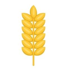 Ear of wheat icon cartoon style vector image