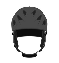 helmet for ski snowboarding extreme sports bicycle vector image